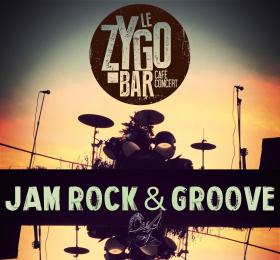 Jam Rock N' Groove avec Erwan Le Fichant & Eddie Coutinho