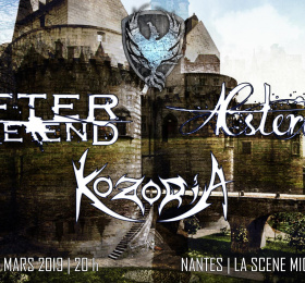 Image After The End + Aesteroth + Kozoria Métal