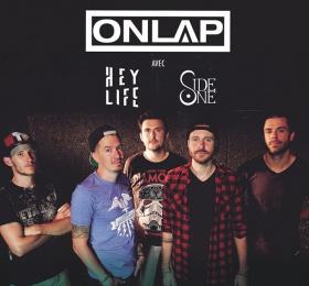 Image Onlap (release party) + Hey Life + Side One Rock/Pop/Folk
