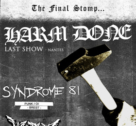 Image Harm Done (last show) + Syndrome 81 + Worst Doubt + Insecurity Rock/Pop/Folk