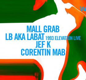 Image Wonder avec Mall Grab, LB aka Labat, Jef K, Corentin MAb Electro