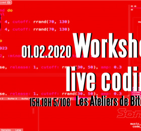Image Workshop Live Coding Electro