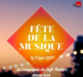 Image Fête de la Musique - Cie du Café-Théâtre Chanson