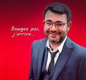 Image Jeff Santano - Bougez pas j'arrive Humour
