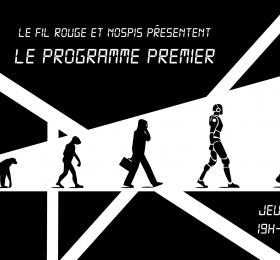 """Le Fil Rouge et Nopsis présentent : """"Le Programme Premier"""" → Conférence + Showcase…"""