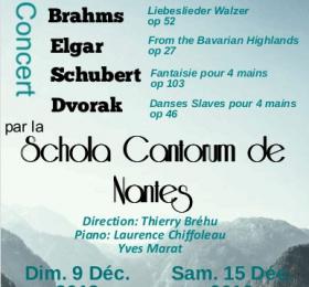 Image Concert Brahms, Elgar, Schubert, Dvorak Classique/Lyrique
