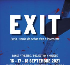 Image Exit - Latin : sortie de scène d'un.e interprète Festival