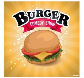 Image Burger Comedy Show - Street of Comedy Humour