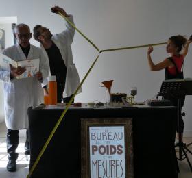 Image Le bureau des poids et des mesures Théâtre