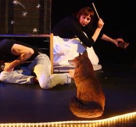 Image Cabane / cabaret miniature / cie Un château en Espagne Théâtre