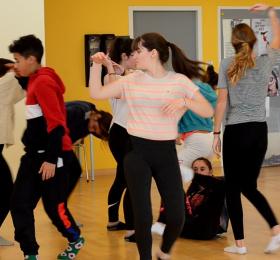 Performance dansée