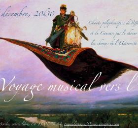 Image Voyage musical vers l'Est : chorales Martin Chanteurs et chœur de l'Université permanente Concerts