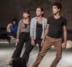 Image Temps de regards, Cie S - Julie Ollivier Danse