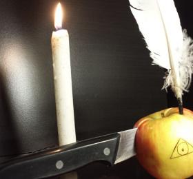 Image Complote de pommes Lecture