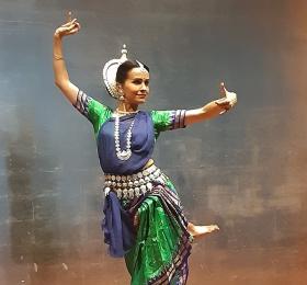 Danse Odissi de l'Inde du Nord