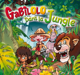 Image Gabilolo dans la jungle Conte