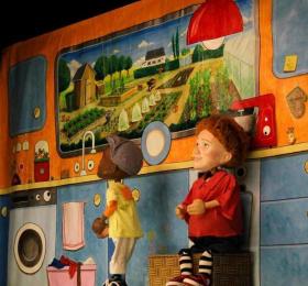 Image Grabuge dans le frigo ! Marionnettes/Objets