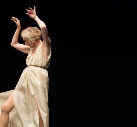 Image Isadora Duncan | Jérôme Bel Danse