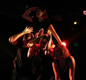 Image La troupe du Malin improvise au Cyclope Théâtre