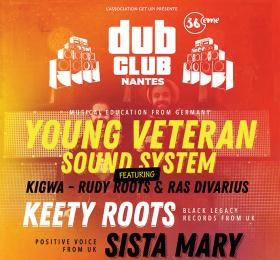 Image Nantes Dub Club#36 Reggae/Ragga/Dub
