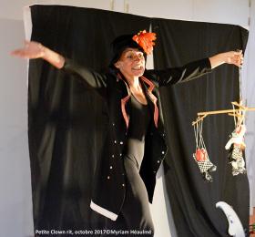 Image Petite Clown Rit Théâtre