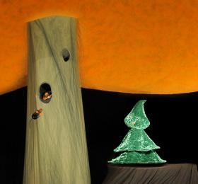 Image Petit-Sapin Quatre-Saisons Marionnettes/Objets