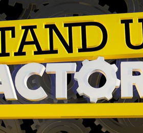 Image Stand Up Factory Humour