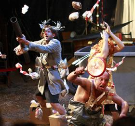 Image Tout est bien ! Catastrophe et bouleversement Cirque