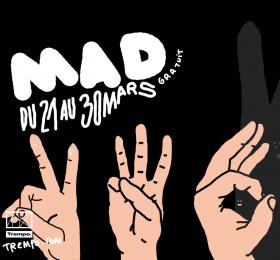 Concert MAD #6 avec Bats Army, Primordial Shapes et Onlun !