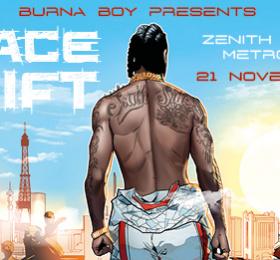 Burna Boy - Space Drift