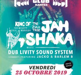 Nantes Dub Club#35 • Jah Shaka / Dub Livity Sound System