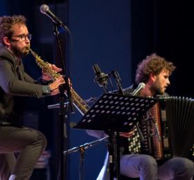 Jazz en Phase - Vincent Peirani et Émile Parisien