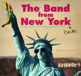 Image The band from New York Humour