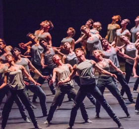 Within the Golden Hour / Nouveau Cherkaoui / Flight Pattern (Royal Opera House)